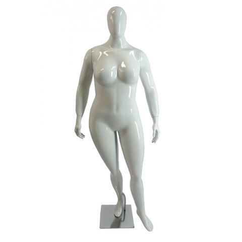 Manequim feminino plus size